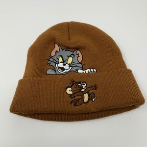 Supreme Tom and Jerry Beanie brown